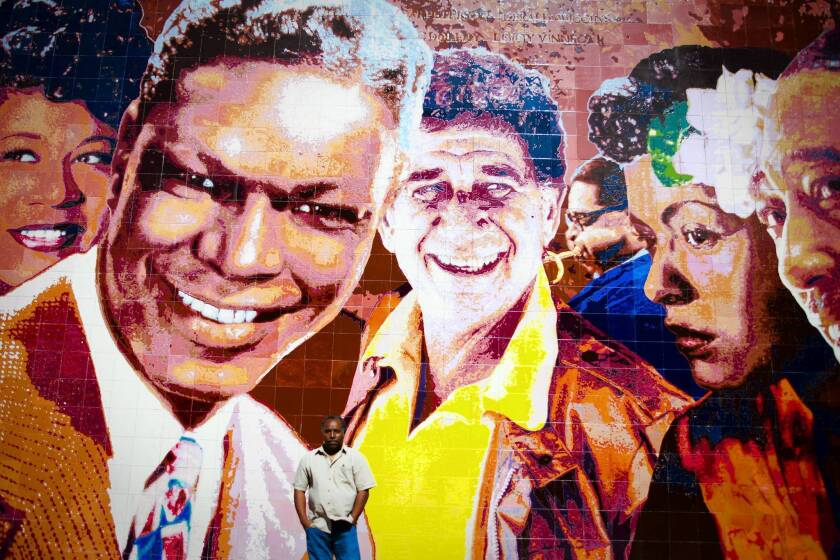 'Hollywood Jazz' mural lives on more brightly