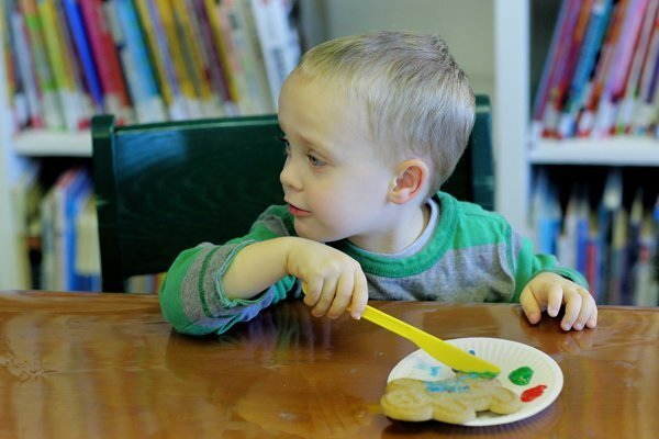 Creative Cookie-making at the Library