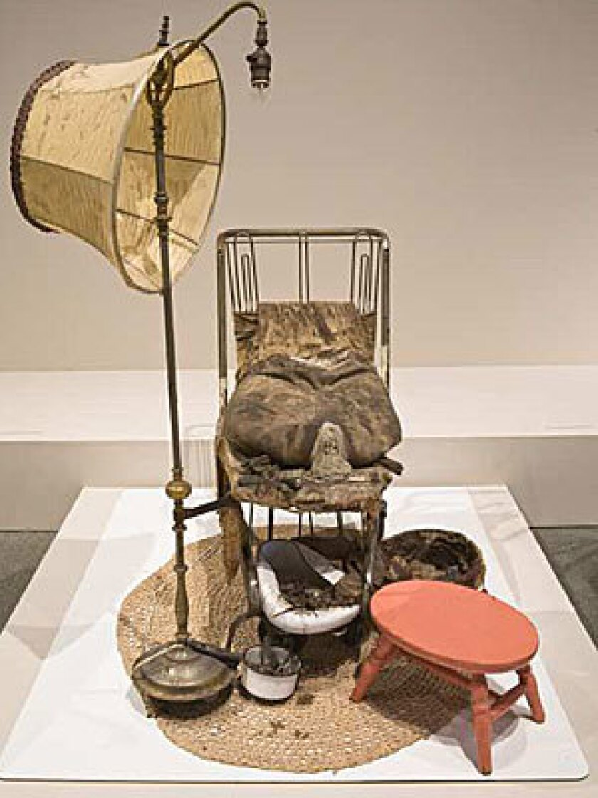 MAKING A STATEMENT: Ed Kienholz 's 1962 work 'The Illegal Operation' was purchased by LACMA for about $1 million.