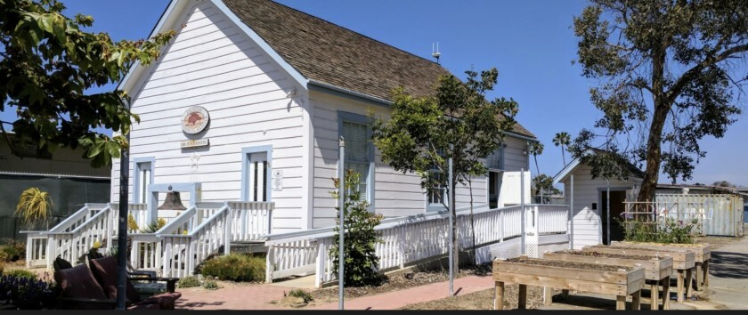 The Encinitas Historical Society 1883 Schoolhouse
