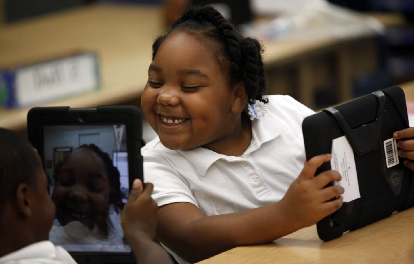 First iPads for LAUSD elementary school students