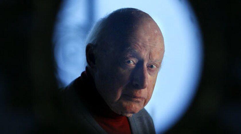 Actor-director Norman Lloyd.