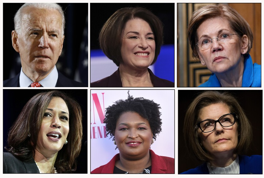 Joe Biden's possible running mate choices