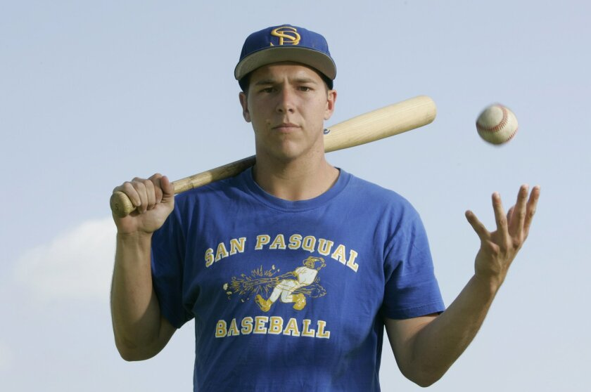 San Pasqual's Stevie Carr was the Player of the Year in the Avocado East League.