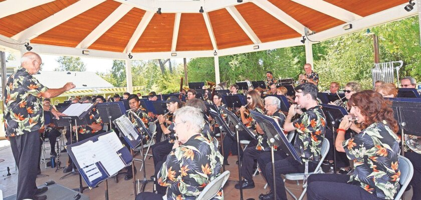 The Pomerado Community Band will perform Sunday afternoon. (File photo)