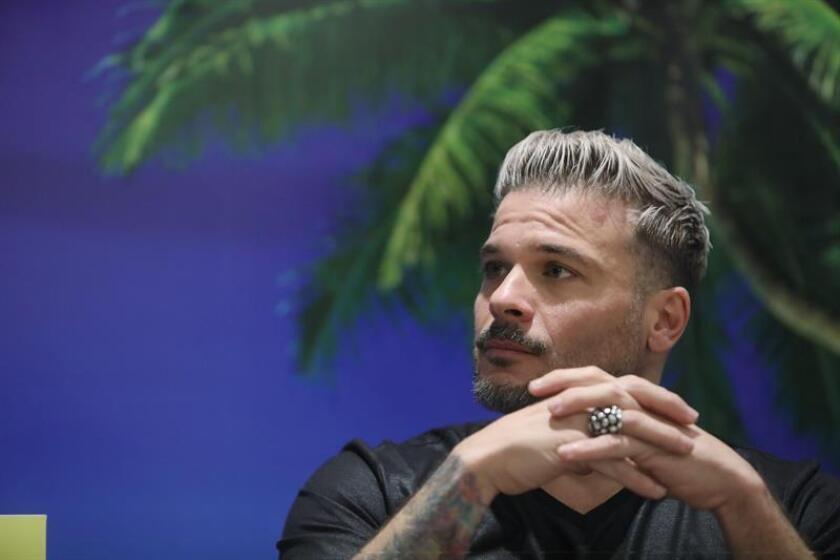 El puertorriqueño Pedro Capó posa durante una entrevista con Efe el pasado martes, 15 de enero de 2019, en Ciudad de México (México). EFE