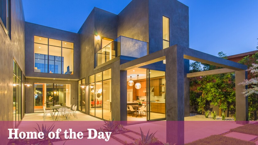 Home of the Day: Modern Venice compound