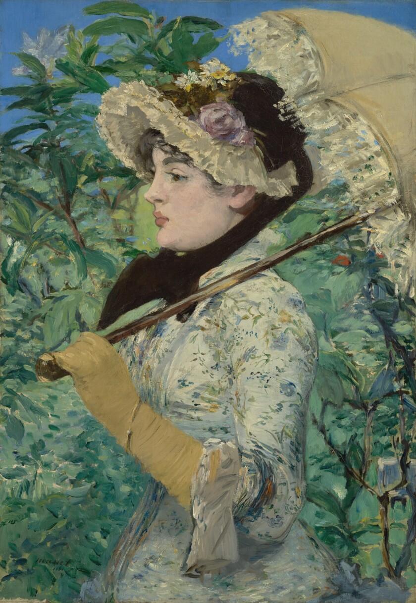 "Edouard Manet, ""Spring,"" 1881"