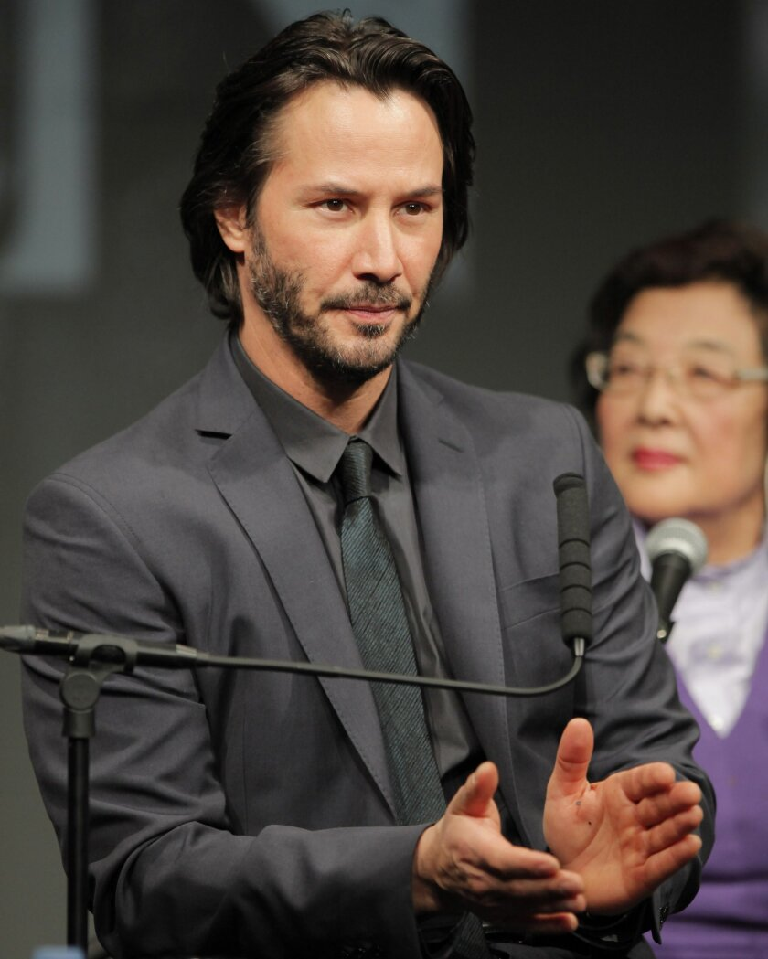 Keanu Reeves film based on true Japanese story - The San