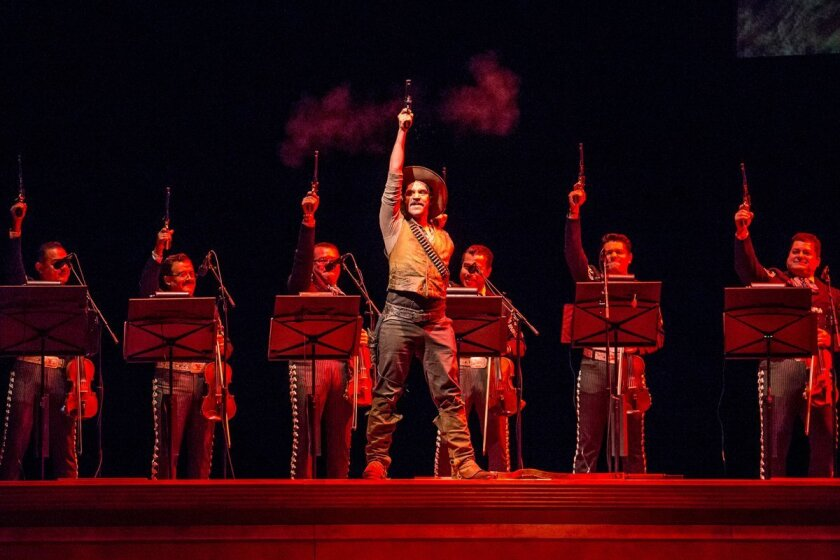 """El Pasado Nunca Se Termina"" (""The Past is Never Finished"") premiered at the Chicago Lyric Opera in March."