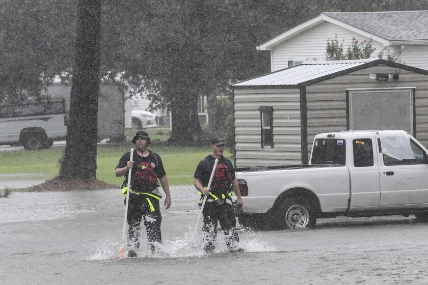 Newsletter: In the Carolinas, a hurricane rages on