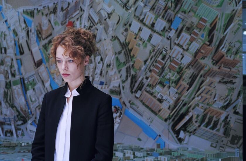 """Paula Beer in the movie """"Undine."""""""