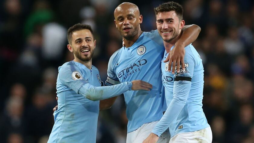 Manchester City v Leicester City, United Kingdom - 06 May 2019