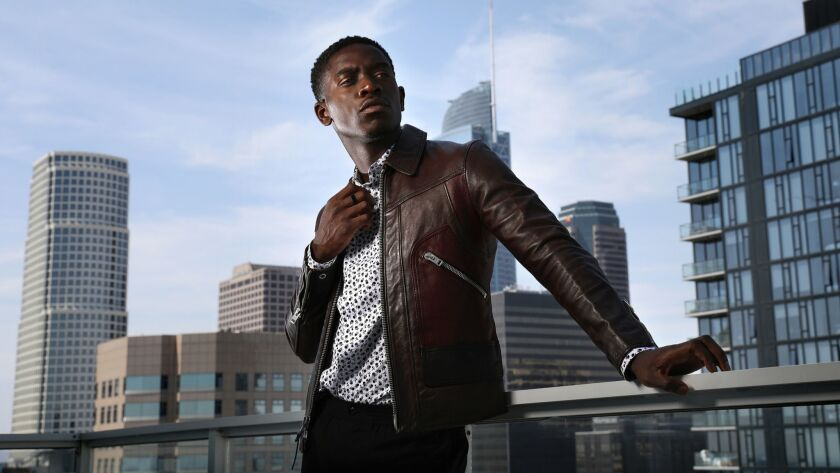 British actor Damson Idris brings L A 's '80s crack epidemic