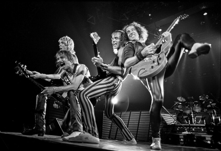 April 24, 1984: The Scorpions kept their fans on their feet during their entire two-hour concert at
