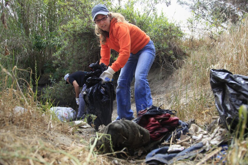 Creek to Bay Cleanup -- picture 1