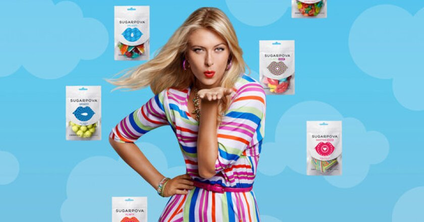 Maria Sharapova, the top-paid female athlete in the world for eight years running, is launching a new candy company called Sugarpova.