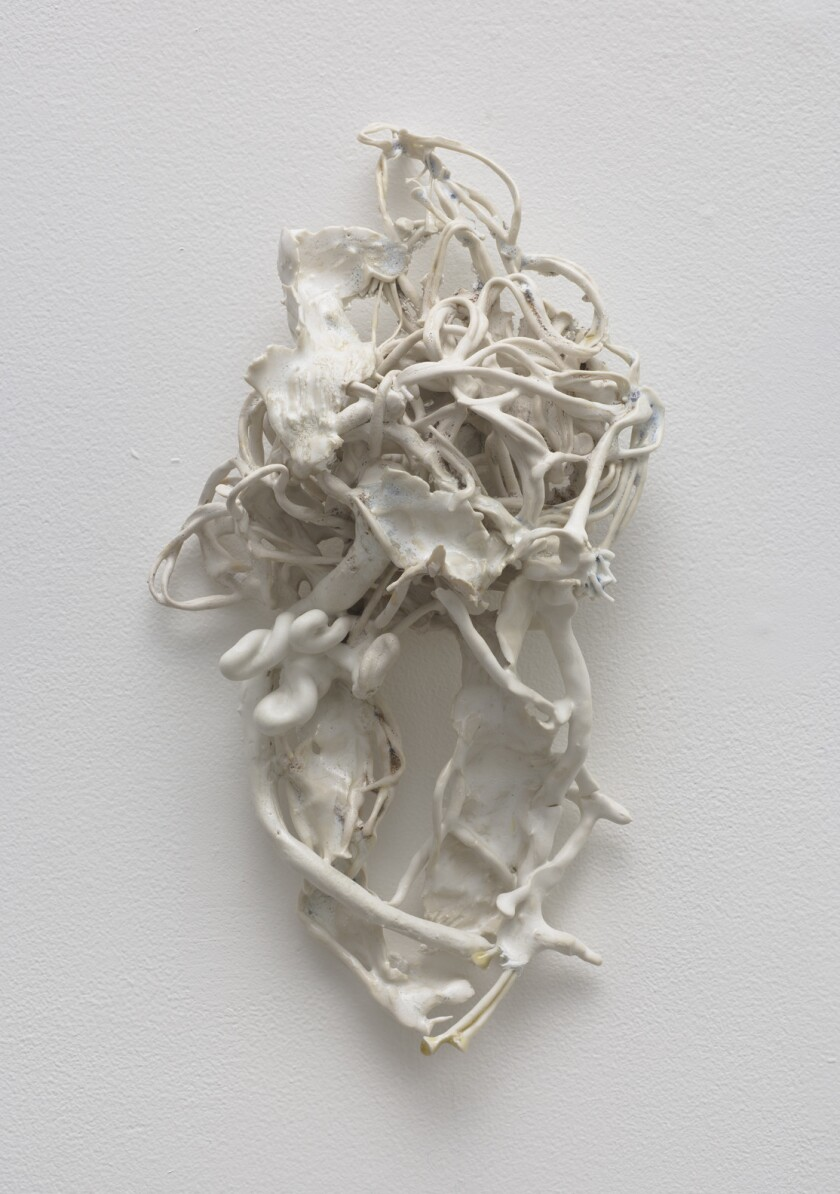 """""""Soft Catch"""" by Rebecca Manson at Acme gallery in Los Angeles."""