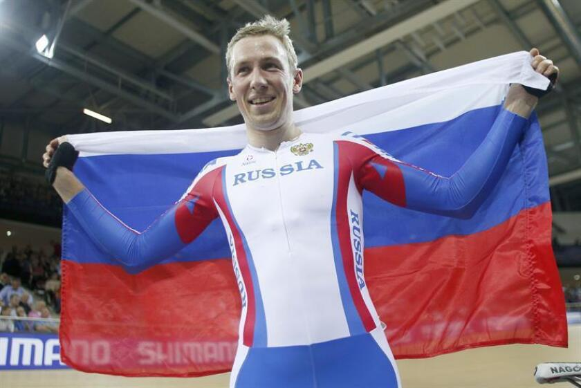 Artur Ershov, ciclista ruso. EFE/Archivo