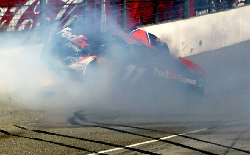 NASCAR road rage at 170 mph: The daredevil made them do it