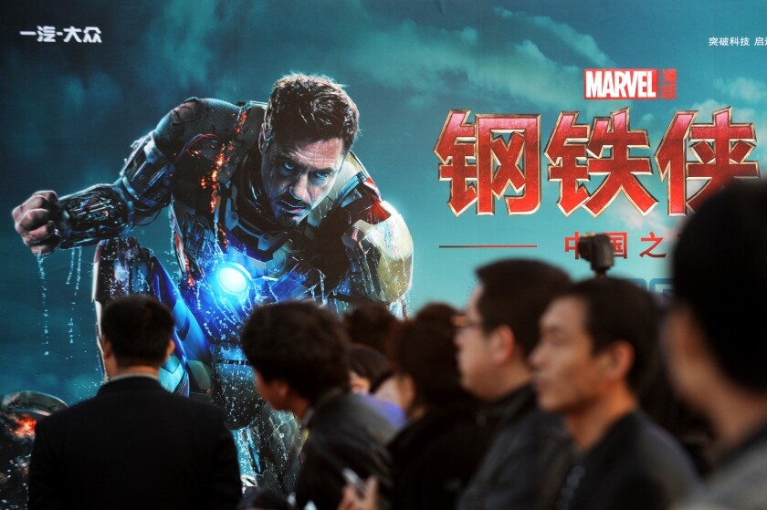 Researchers predict Chinese hackers may target Hollywood as the movie industry becomes bigger in that country.