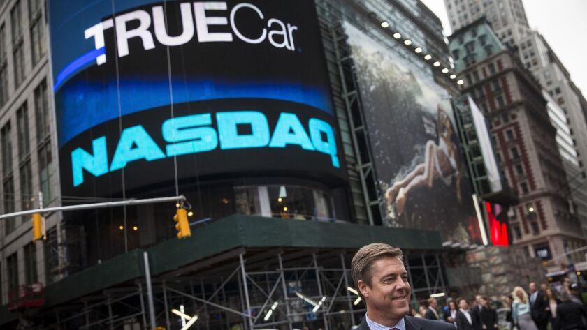 Daher Capital says, as an investor, it was a beneficiary when the car-buying search website TrueCar went public in 2014.