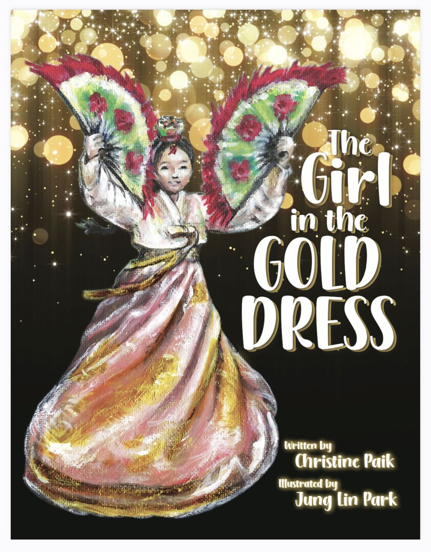 """""""The Girl in the Gold Dress"""" is Christine Paik's debut children's book."""