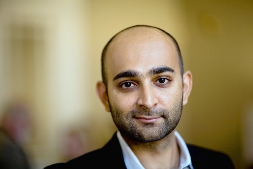 Mohsin Hamid will discuss his latest book at Aloud.