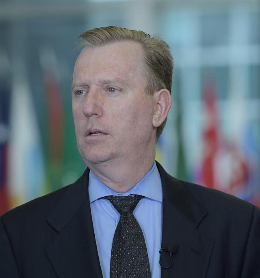El subsecretario adjunto de Estado de EEUU para Sudamérica, Michael Fitzpatrick. EFE/Archivo