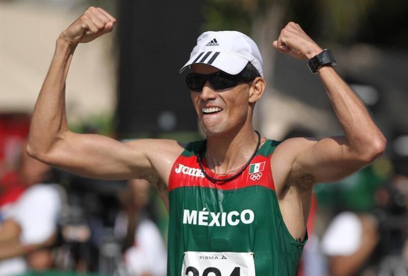 El mexicano Horacio Nava, subcampeón de la Copa del Mundo de caminata del 2010, aseguró hoy estar lleno de motivación, en el arranque del que puede ser el último ciclo olímpico de su carrera deportiva. EFE/ARCHIVO