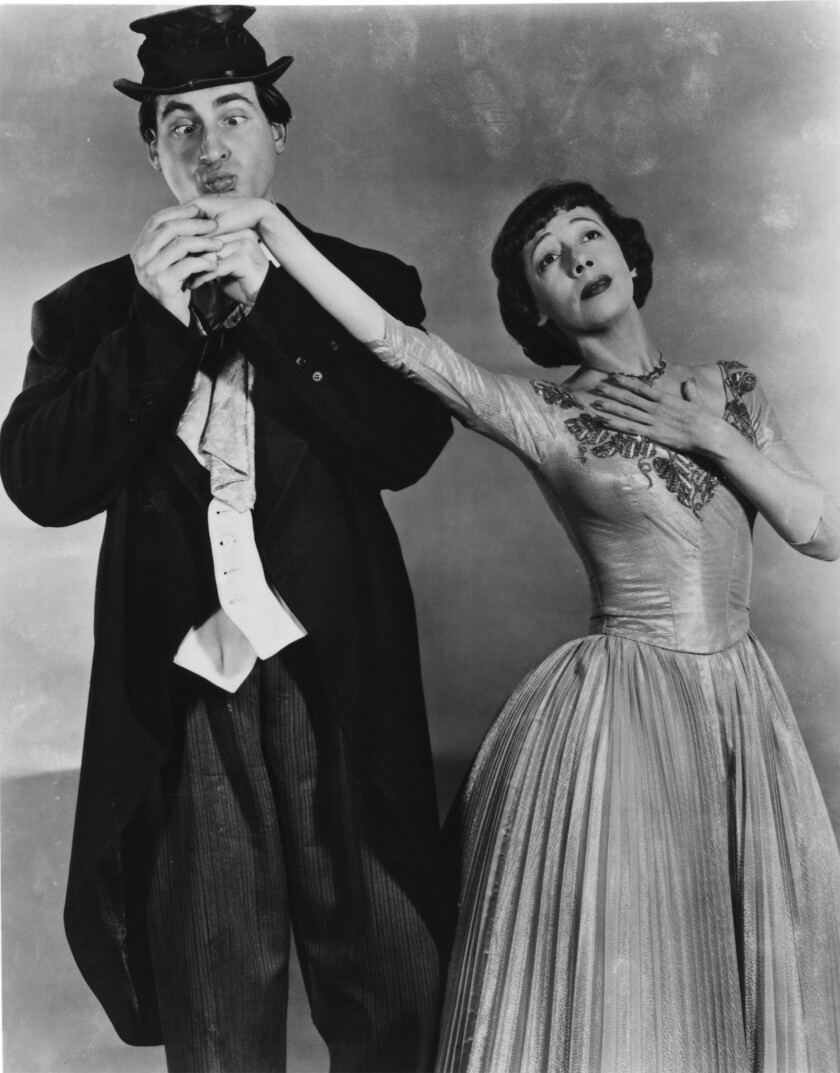 """Sid Caesar and Imogene Coca in """"Your Show of Shows"""""""