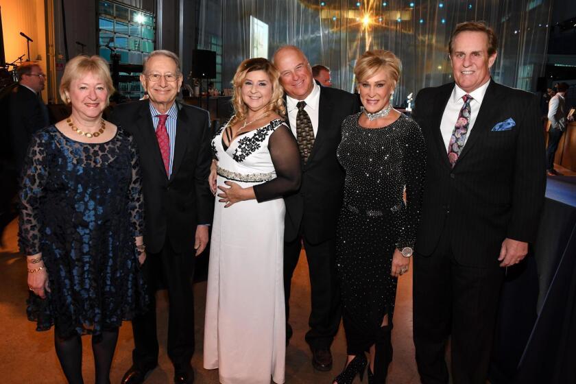 Martha and Edward Dennis, Zoraya de la Bastida, Peter Hapka, Sherry and Kevin Ahern