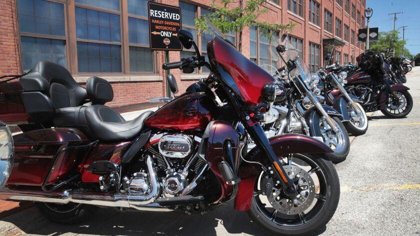 Harley Motorcycles A Target Of EU Retaliatory Tariffs