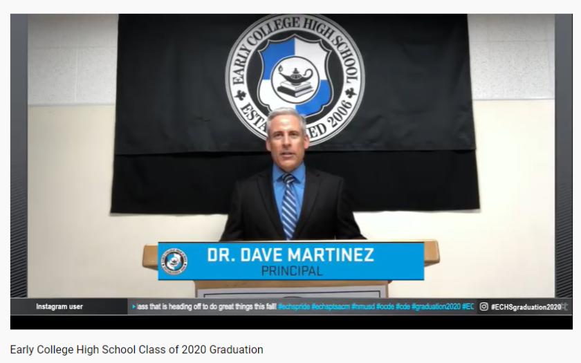 Early College High School Principal Dave Martinez