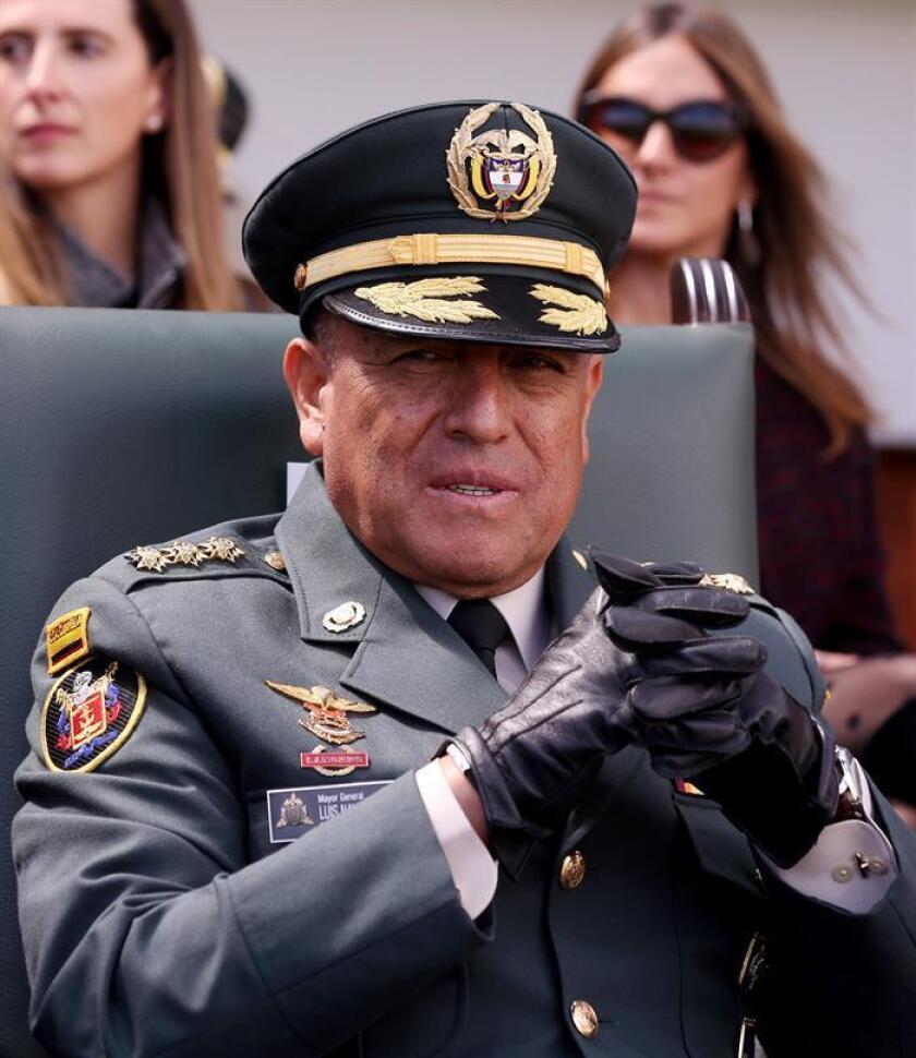El Comandante General Fuerzas Militares, General Luis Fernando Navarro Jiménez. EFE/Archivo
