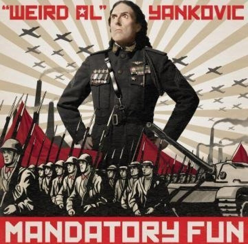 """Weird Al"" Yankovic's ""Mandatory Fun"" album debuted at No. 1 at the top of the Billboard Album charts — a first for a comedy record. Photo by Robert Trachtenberg"