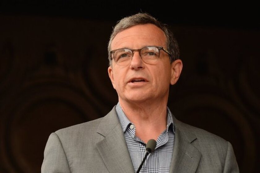Walt Disney Co. Chief Executive Robert Iger praised Netflix, noting that the company has paid strong prices for Disney's intellectual property, but said that Disney would continue to look at other platforms in the video-on-demand space.