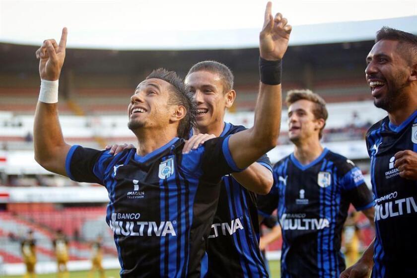 Imagen de archivo de jugadores de Querétaro. EFE/Archivo