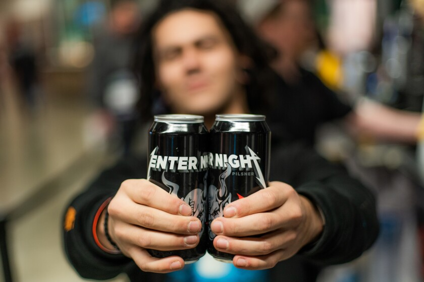 Enter Night Pilsner