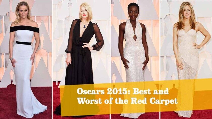 From left: Reese Witherspoon, Margot Robbie, Lupita Nyong'o and Jennifer Aniston.