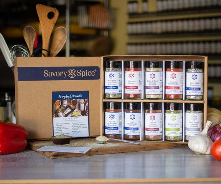 Savory Spice essential spice jar set