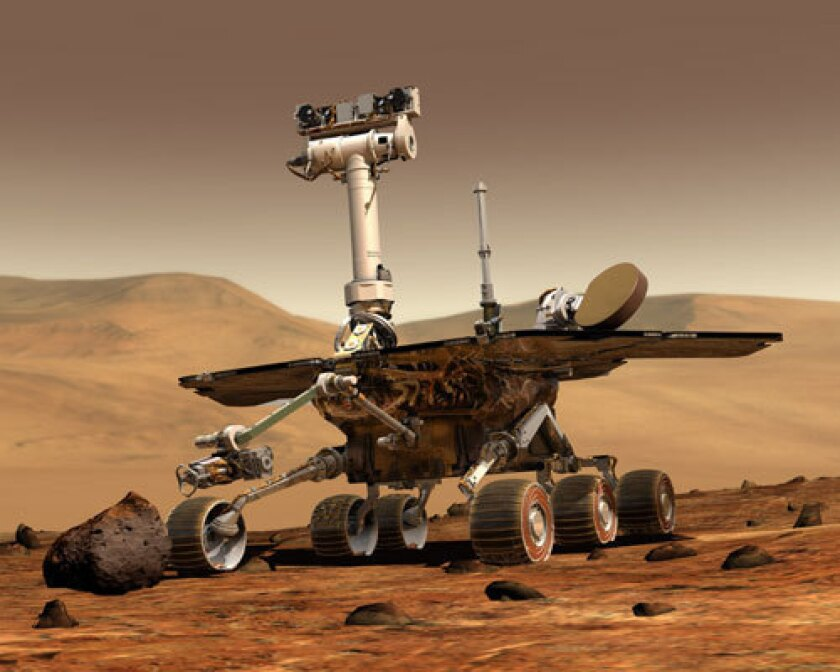 NASA's proposed $17.5-billion budget could leave Opportunity, the last surviving Mars Exploration Rover, high and dry, sources said.