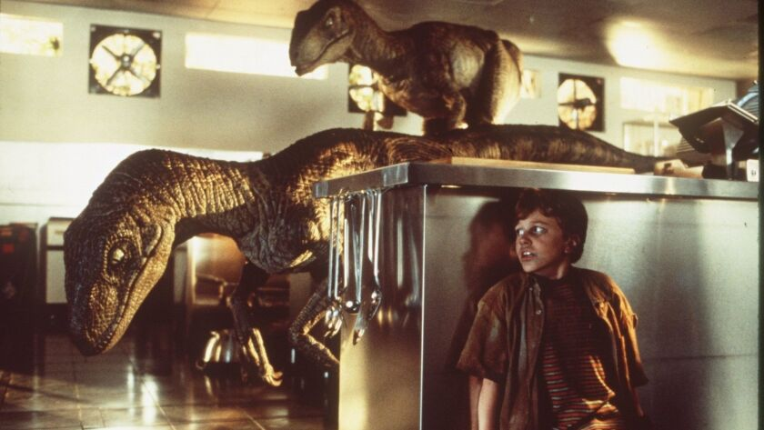 CA.00.18/Jurrasic Handout slide of Jurassic Park. Photo/Murray Close