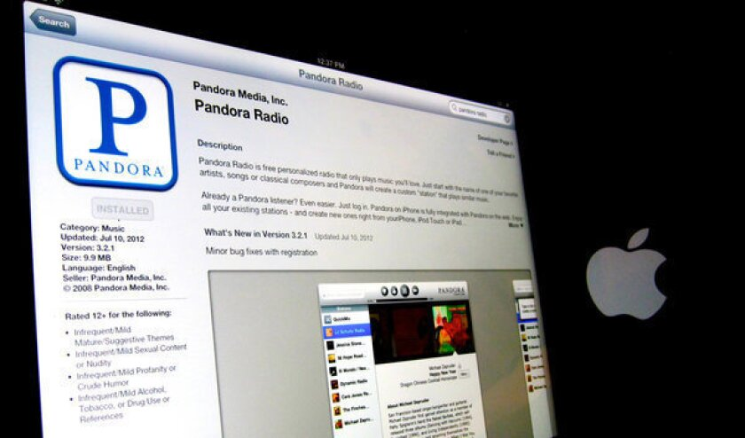 Pandora Radio remains one of the most downloaded applications for Apple's devices.