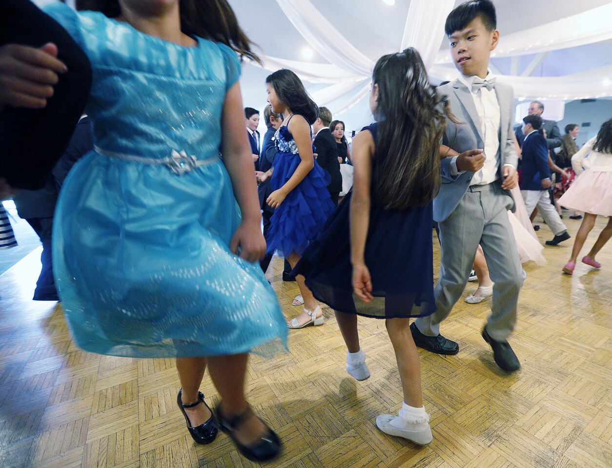 Photo Gallery: Basic etiquette cotillion class taught to La Canada fourth graders