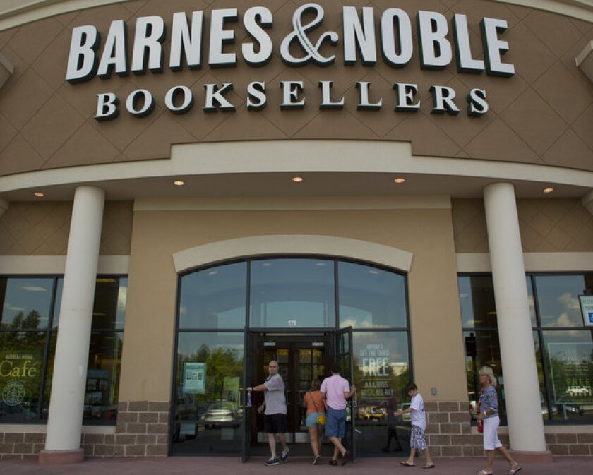 Barnes & Noble said preliminary reports indicate a disappointing holiday season.