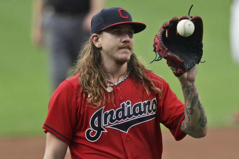 Indians starting pitcher Mike Clevinger is headed to the Padres.