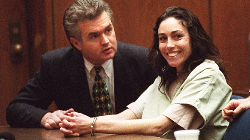 Anthony Brooklier with his client Heidi Fleiss in 1997, taken a decade after this article originally ran.