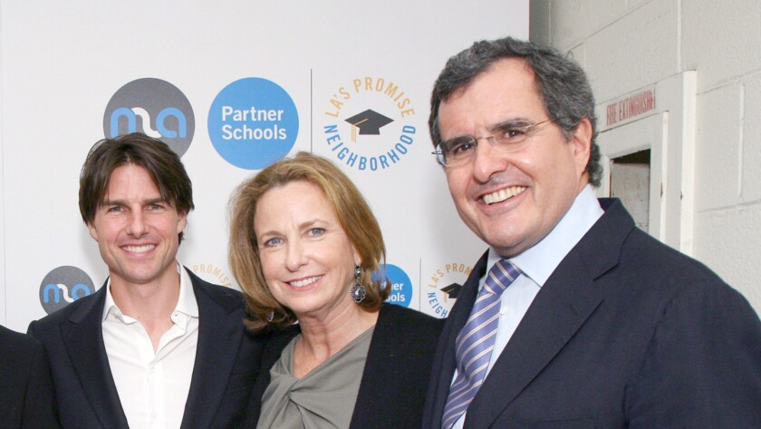 Tom Cruise, Megan Chernin, Peter Chernin