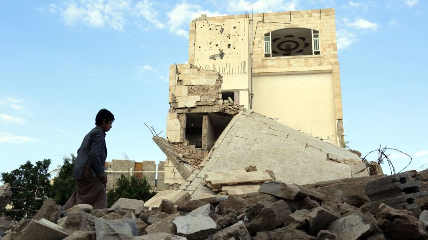 Ongoing conflict in Yemen amid pressure to resume peace talks, Sana'a - 01 Nov 2018